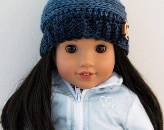 My Favorite Beanie for 18 Inch Dolls - Crochet Pattern