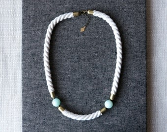 CAMBRA Statement Rope Necklace