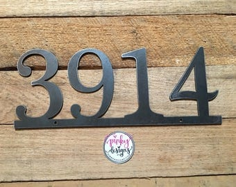 Metal House Number Sign | Home Address Sign | Address Sign | Address Number Sign | Metal Address Sign - A3