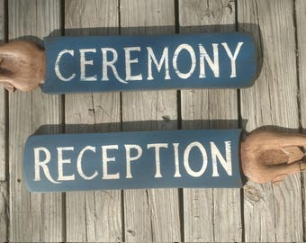 Handcarved event signs, wedding signs (sold separately)