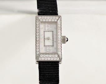 Limited Edition, Marc Jacobs, Swiss, Diamond, Stainless Steel, Cloth Band, Water Resistant, Ladies Watch MJ1003