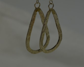 Textured Sterling Earrings