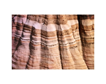 Rock Formation, Abstract Photography, Modern Art, Muted Colors, Stripes, National Park