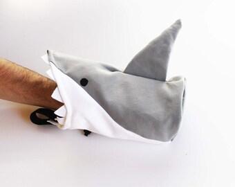 Great White Shark Attack - Rock Climbing Chalk Bag