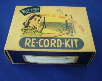 Venetian Blind Re-cord Kit