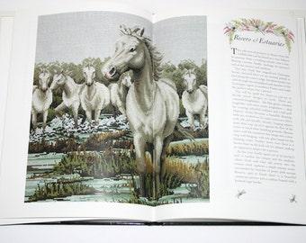 The Water's Edge in Cross Stitch Mayhew Wheeler Waters Edge Hardcover BOOK