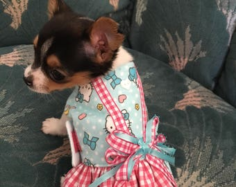 Hello kitty dress for small dogs