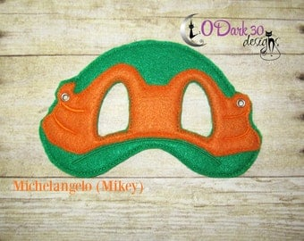 Michelangelo (Mikey) ** TMNT Inspired Childrens Dress Up Mask