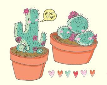 Cactus Print - Cactus Wall Art