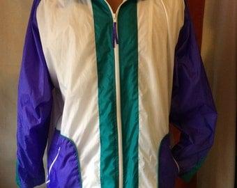 Lavon vintage nylon windbreaker jacket