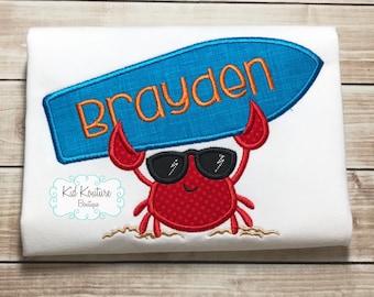 Surfer Crab shirt