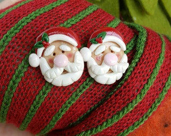 Santa Claus earrings Noel earrings