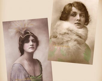 Actress Gladys Cooper - 2 New 4x6 Vintage Image Photo Prints - GC10-01