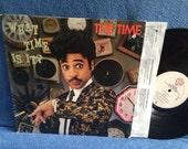 """Vintage, The Time - """"What Time Is It?"""" Vinyl LP Record Album, 1984 Original Press, Funk Soul, Morris Day, The Walk, Wild And Loose, PRINCE"""