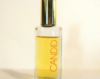 Vintage 1970s Candid by Avon 0.5 oz Ultra Purse Cologne Splash CLEARANCE PERFUME