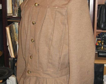 Civil War Pleated Frock Coat