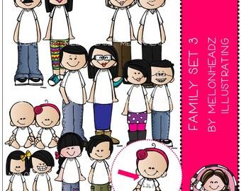 Family clip art Set 3
