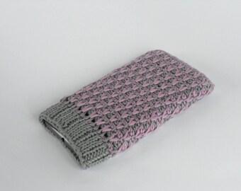 PDF tunisian crochet pattern MUY URBANO phone case, phone cover, phone sleeve