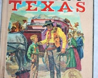 Vintage 1950 hardback copy of Johnny Texas by Carol Hoff