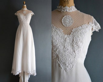 Zosia / 70s wedding dress / 1970s wedding dress