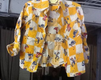 Vintage Child's Cowboy Shirt by French Toast