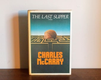 The Last Supper, First Edition by Charles McCarry-CIA-Espionage-Thriller