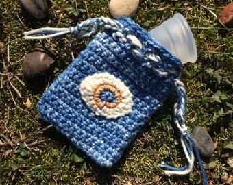 All Seeing Eye Menstrual Cup Bag