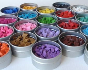 EggstrArt Colored Wax of Your Choice, Wax for Drop-Pull Wax-Embossed Pysanky Eggs, Supplies for Easter Eggs
