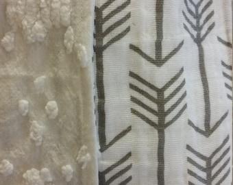 Gender Neutral Arrow Blanket