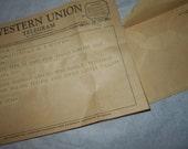 1959 Western Union Telegram Gainesville GA to Texarcana TX