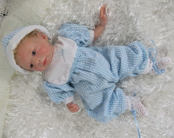Silicone Reborn Baby Romper Set Unisex for 12 inch Doll CLOTHING ONLY!
