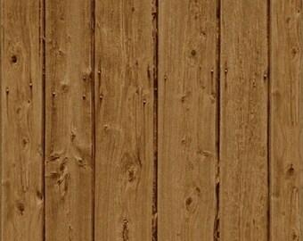 Ranch Hands Wood Grain Tan - Windham Fabrics - 42584-4