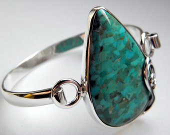 SALE 20% OFF!!! Use the coupon code: SALE20 Turquoise sterling silver bracelet