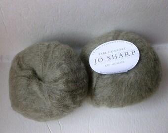 Yarn Sale Olive 605 Rare Comfort Kid Mohair by Jo Sharp Yarn