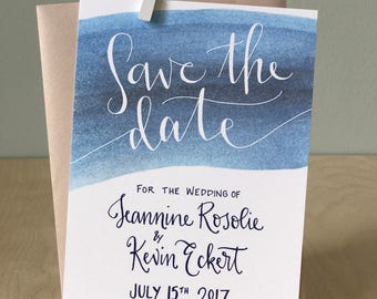Simple Save the Date Card / Watercolor Save the Date Card / Save-the-Date Announcement / Elegant Save the Date / Modern Save the Date Card