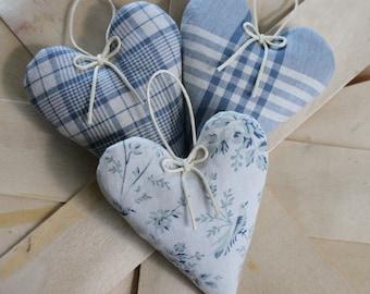 Lavender Sachet - Heart Sachet set of 3