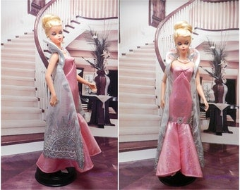 """Evening dress """"Angelina"""" for barbie doll"""