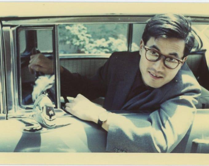 Vintage Snapshot Photo: Driver, c1960s (73556)
