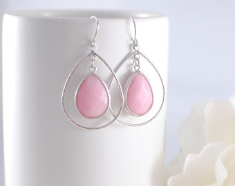 The Lola Earrings - Pink