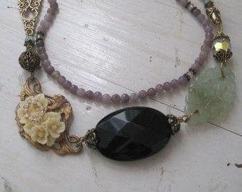 Vintage Mix Eclectic Necklace