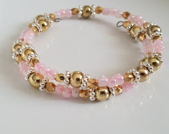 Wrap Bracelet, beaded bracelet, jewelery, bracelets