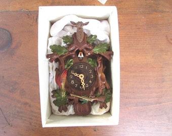 West German Keebler Cuckoo Clock Mini Black Forest Type NON Working