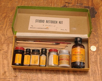 Vintage Photography Retouching Kit