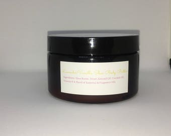 Whipped Dream: 4oz Whipped Body Butter | Shea Butter | Lavender Essential Oil | Kinky Curly