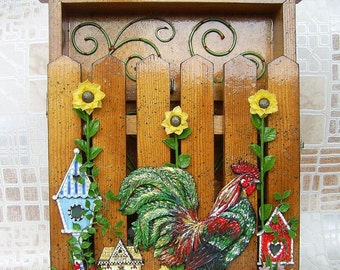 """Key keeper """"On guard"""". Handcrafted"""