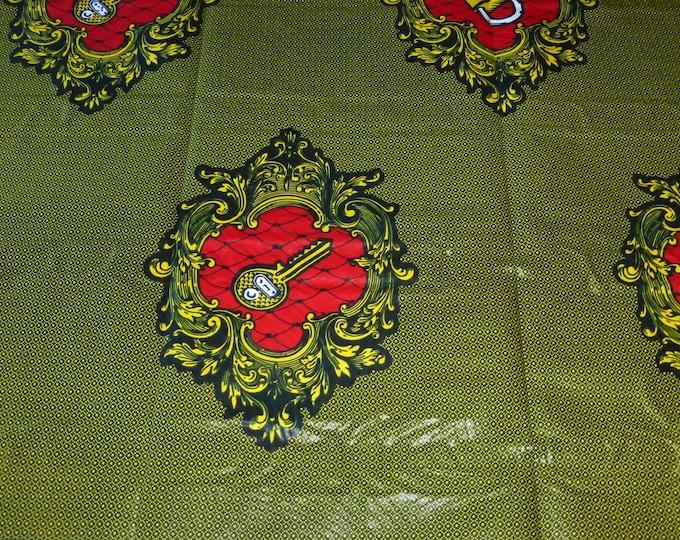 African Ankara Fabrics Print Fabrics For Sewing, Fabrics For Dress Making Kitenge/Pagnes/Ankara /Chitenge Sold By YARD