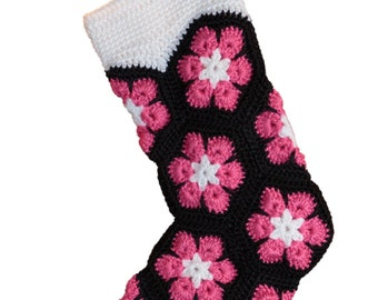 Clearance! Hot Pink Christmas Stocking, Unique Christmas Stocking for girls, tweens, teens and more!