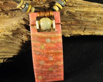 Drops on Stripes - around neck