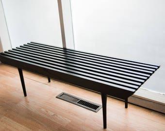 Small Semi-Gloss Oak bench or Coffee Table