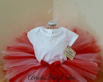 """The """"Candy Cane"""" Baby Girl Tutu Outfit"""